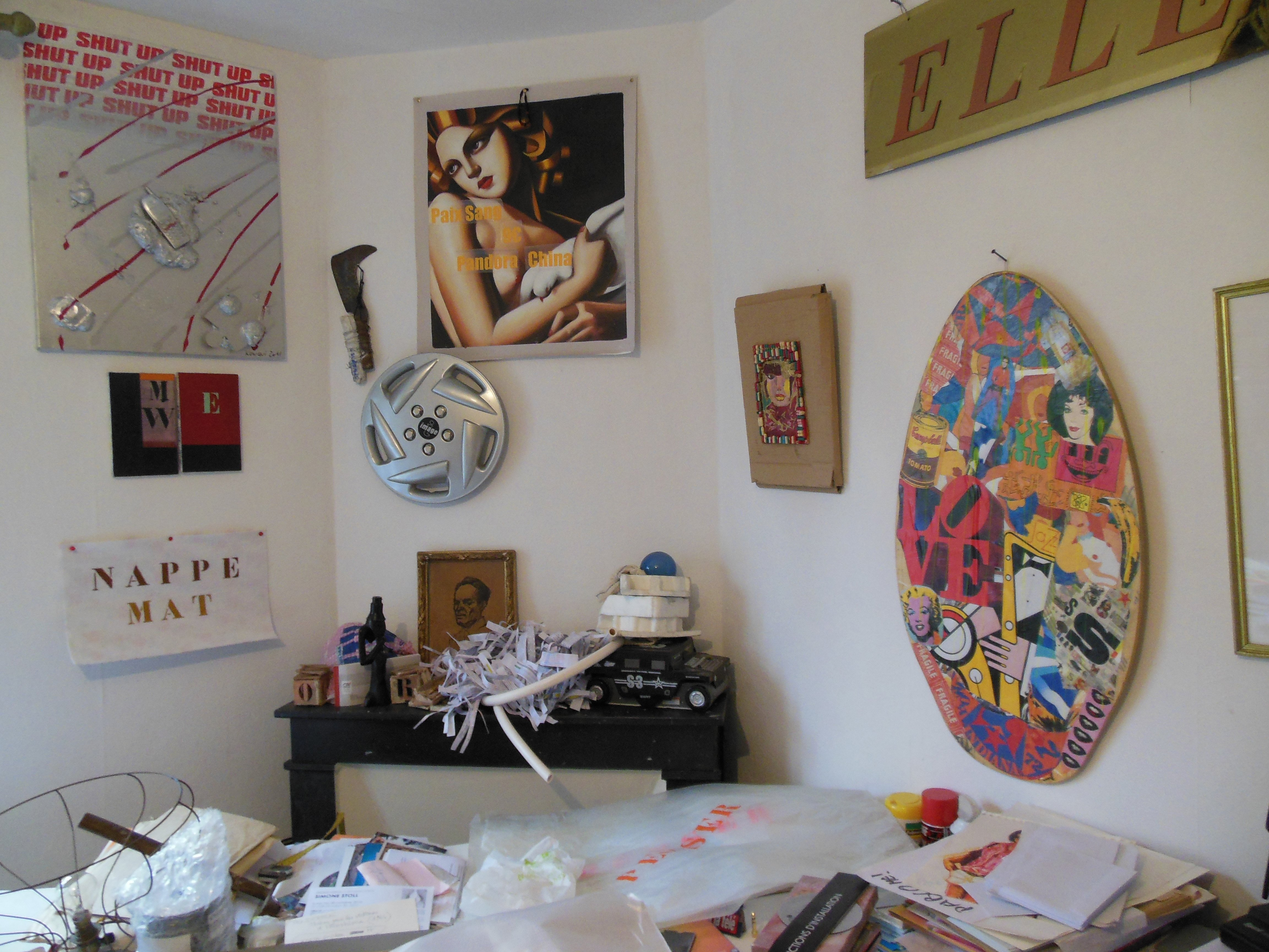 """installation de mon """"cabinet d'amateur""""1"""